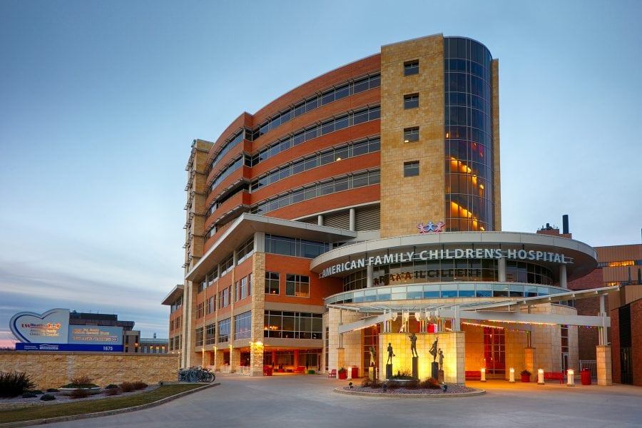 American Family Children's Hospital Exterior