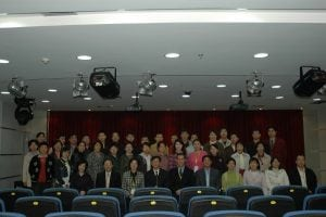 Shanghai Voice Workshop in the main conference room