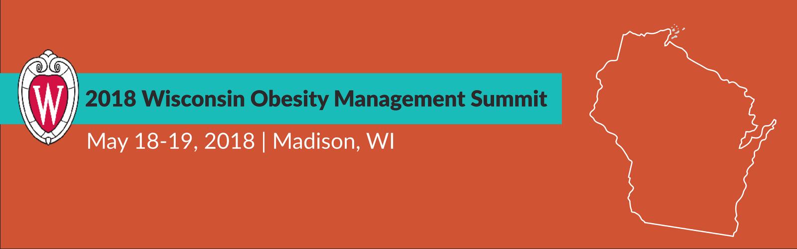 2018 Wisconsin Obesity Management Summit Web banner