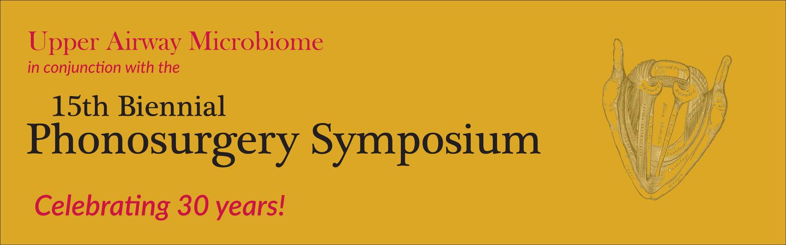 Phonosurgery Symposium Banner