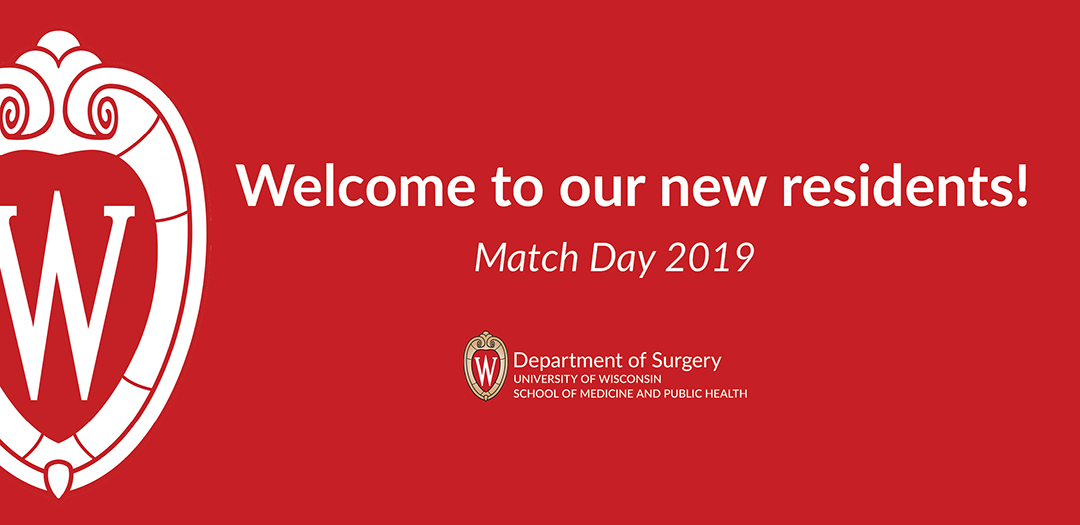 2019 Match: Welcoming our new residents! - Department of Surgery