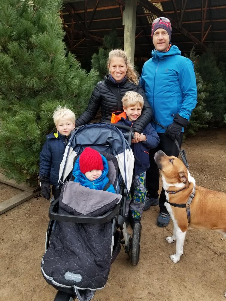 Dr. Sean Ronnekleiv-Kelly and family